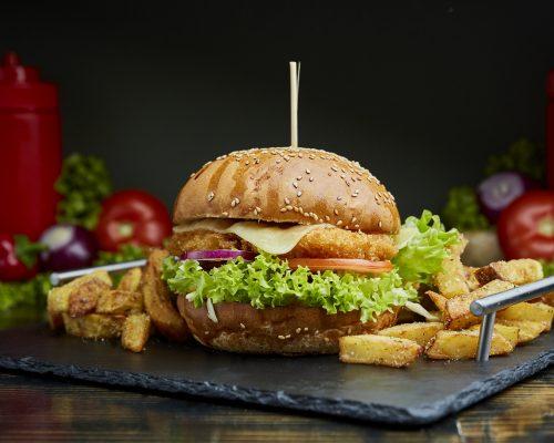 Meniu Crispy Burger