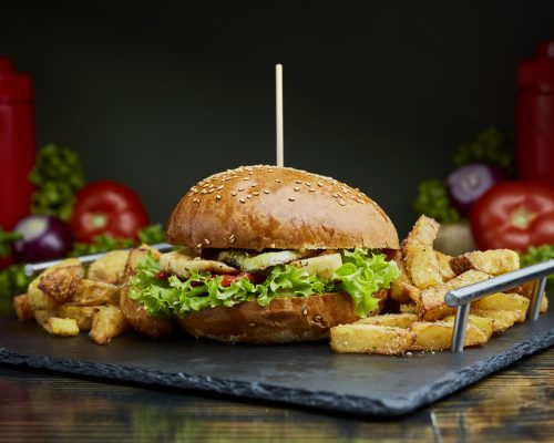Meniu Halloumni Burger